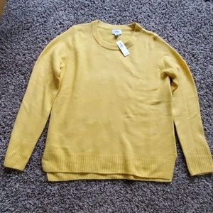 Old Navy Yellow Pull Over Sweater